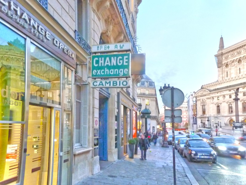 Comptoir Change Opéra
