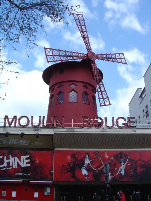 Paris - Moulin Rouge, Pigalle